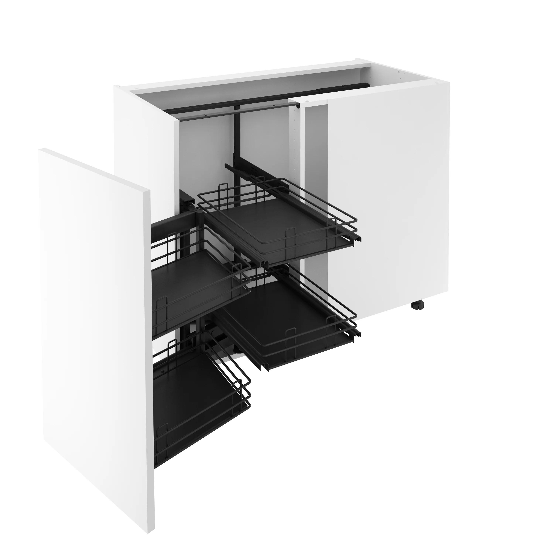 rangement d angle d angle pour meuble d angle bas