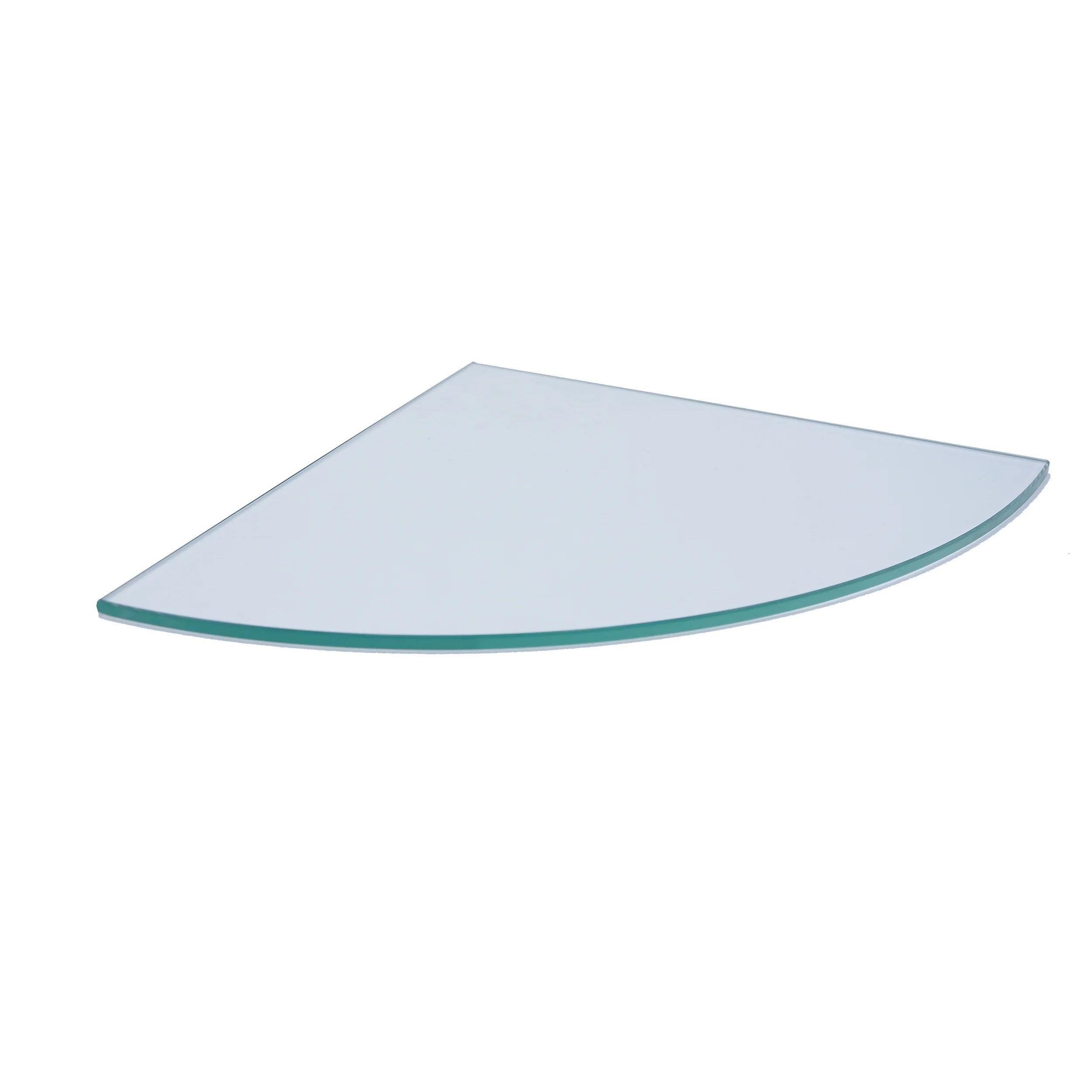 Tablette Verre D Angle L 26 Cm Modul Leroy Merlin