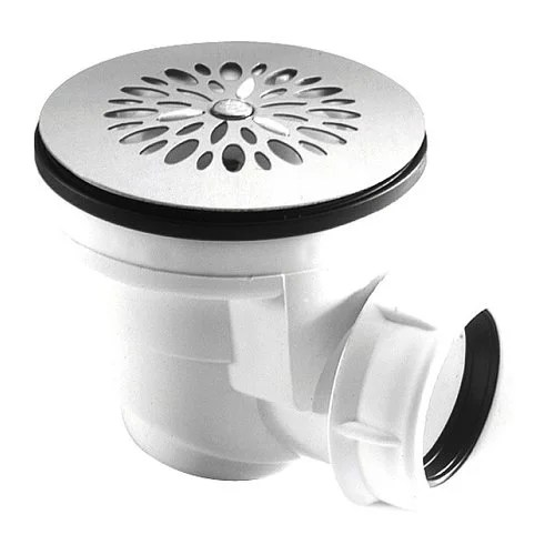 bonde pour receveur de douche grille inox diam 60 mm 0205002 nicoll