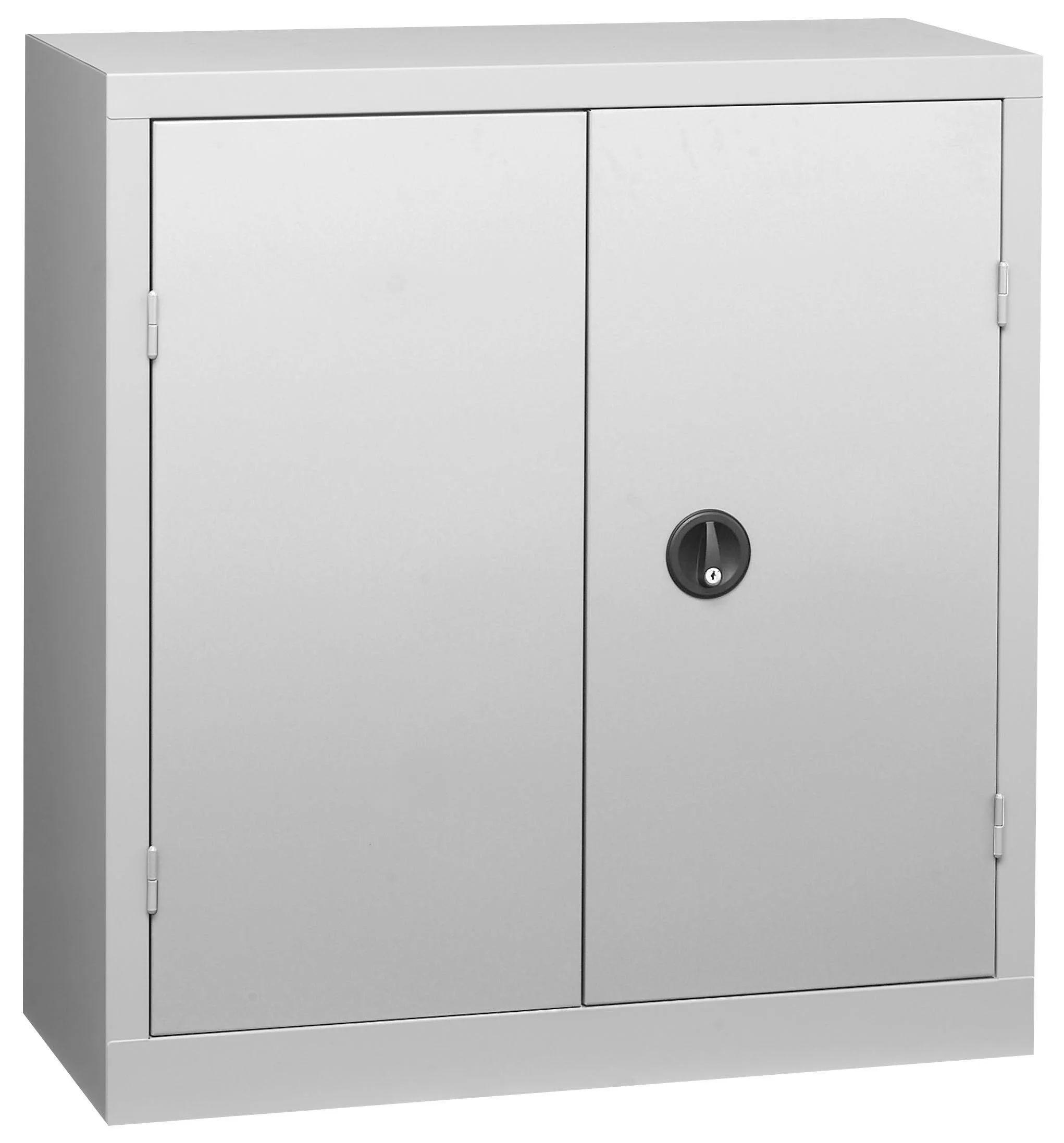 armoire basse acier snor l 120 x h 100 x p 53 cm