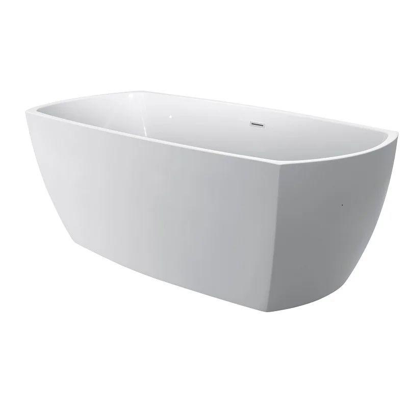 baignoire ilot l 75 x l 175 cm blanc concord lg industries