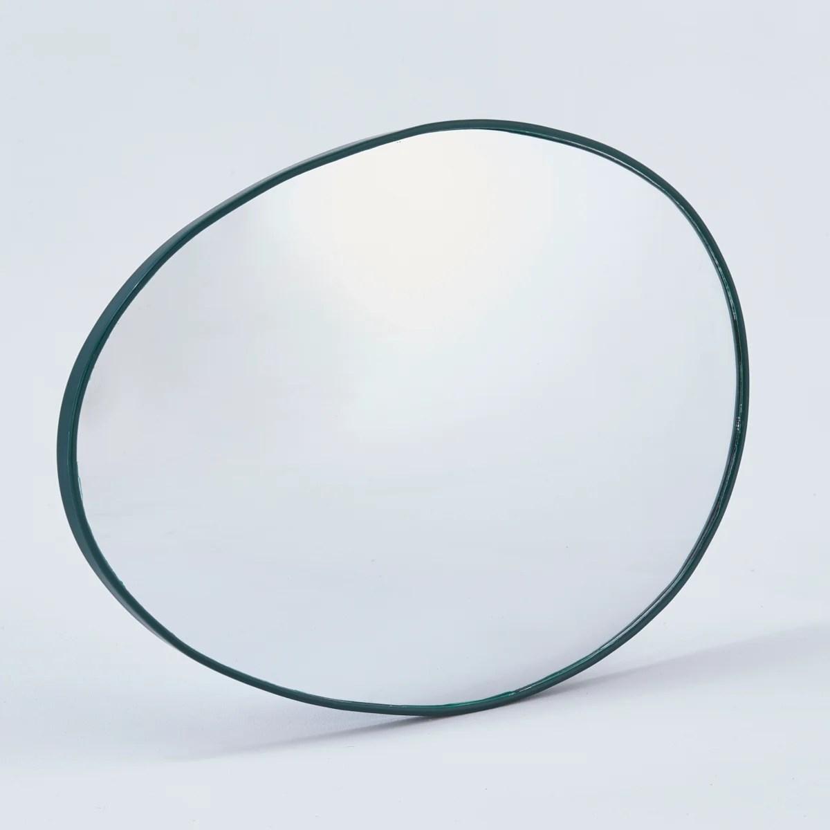 Miroir De Sortie Convexe Interieur Exterieur Diam 34 X 56 Cm Mottez Leroy Merlin