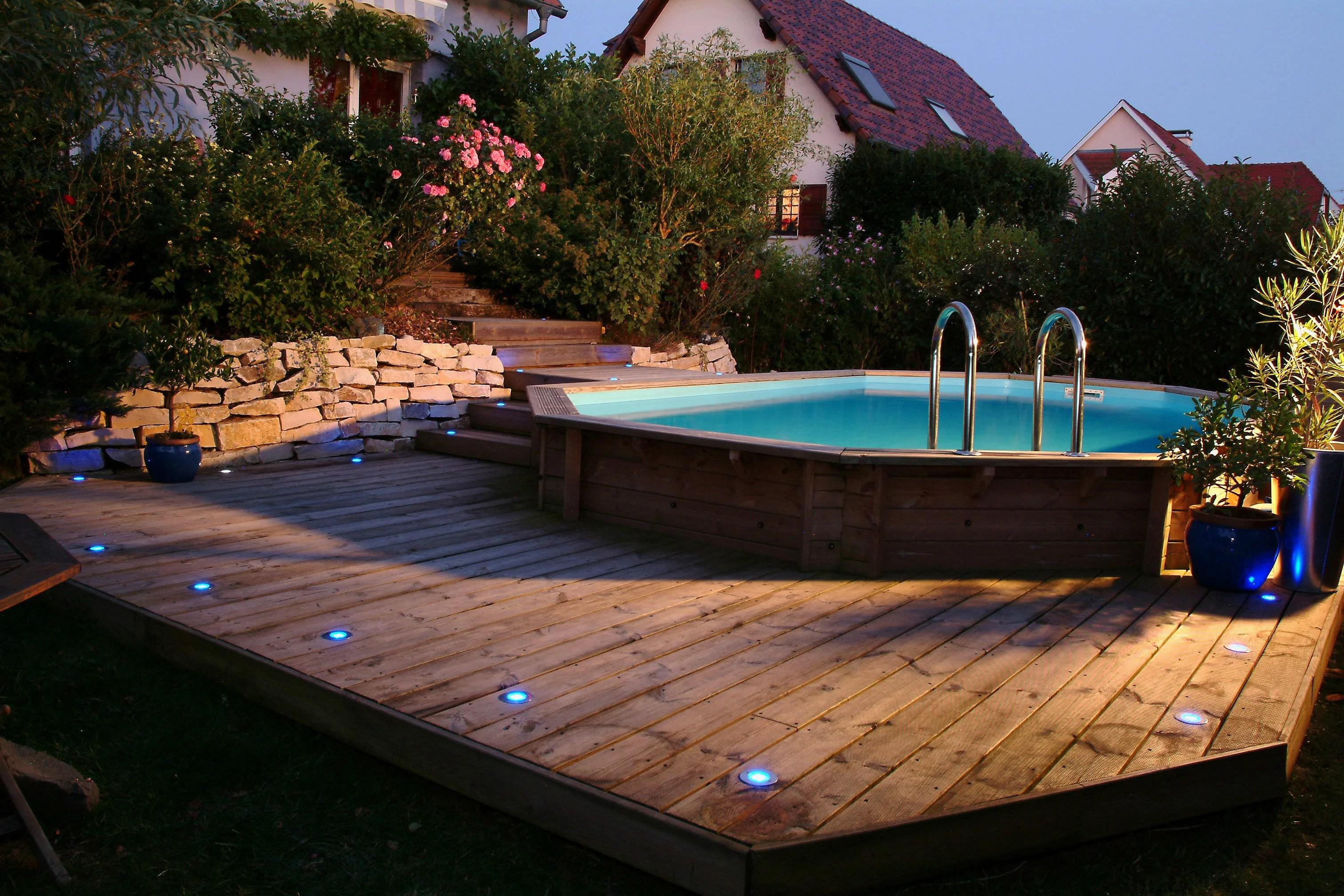 piscine hors sol bois sunwater 300x490