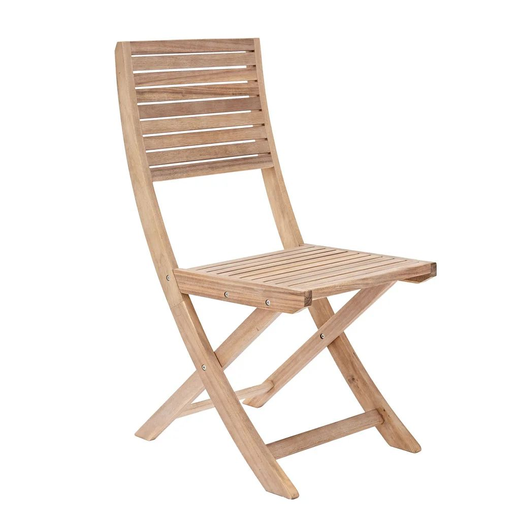 chaise de jardin en bois solaris origami marron