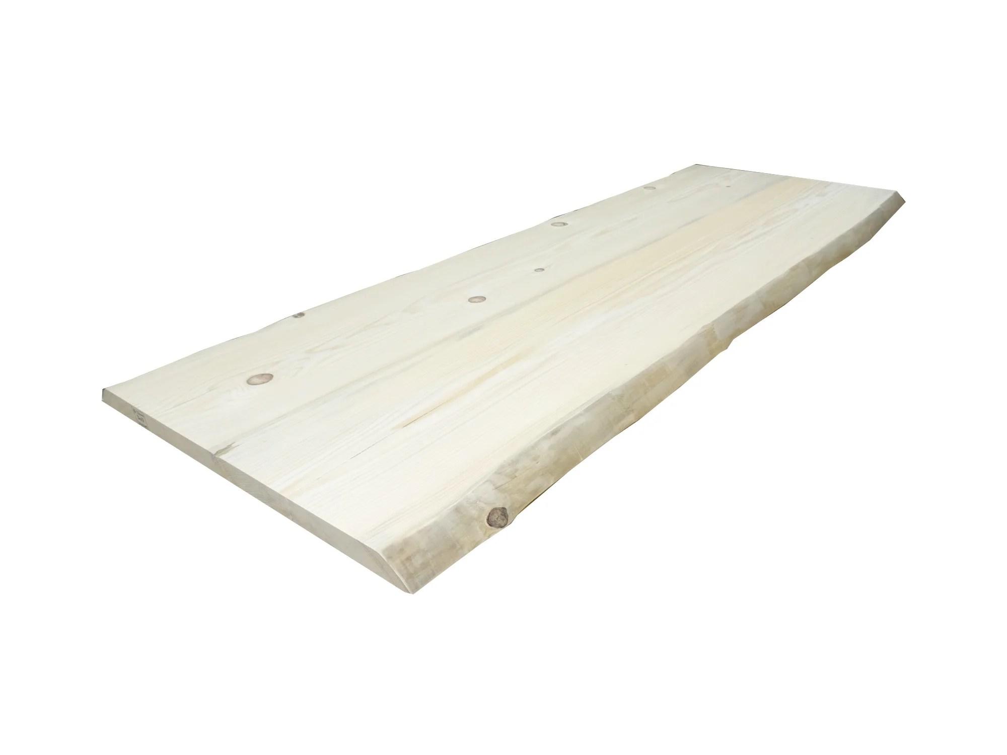 planche de bois brut l 90 x l 200 cm x ep 45 mm