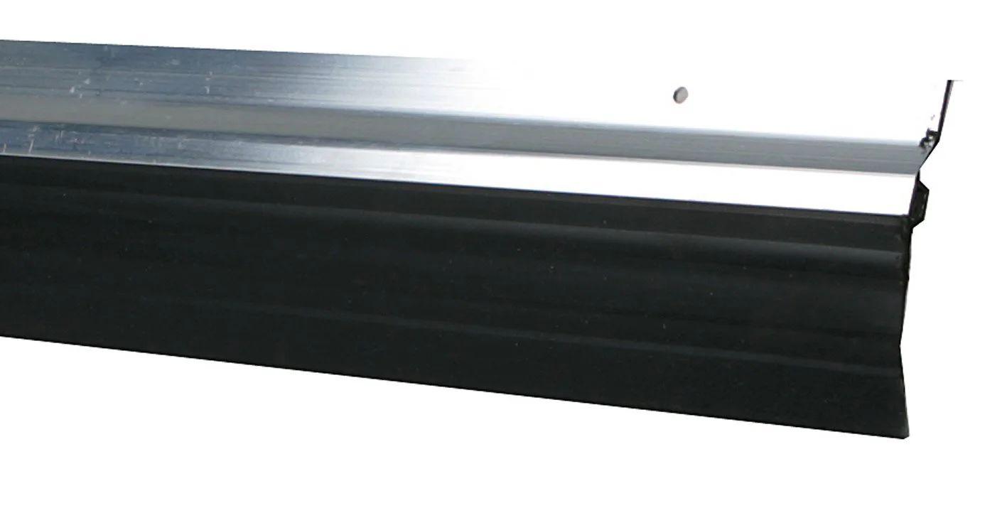 bas de porte a visser levre axton l 100 cm aluminium