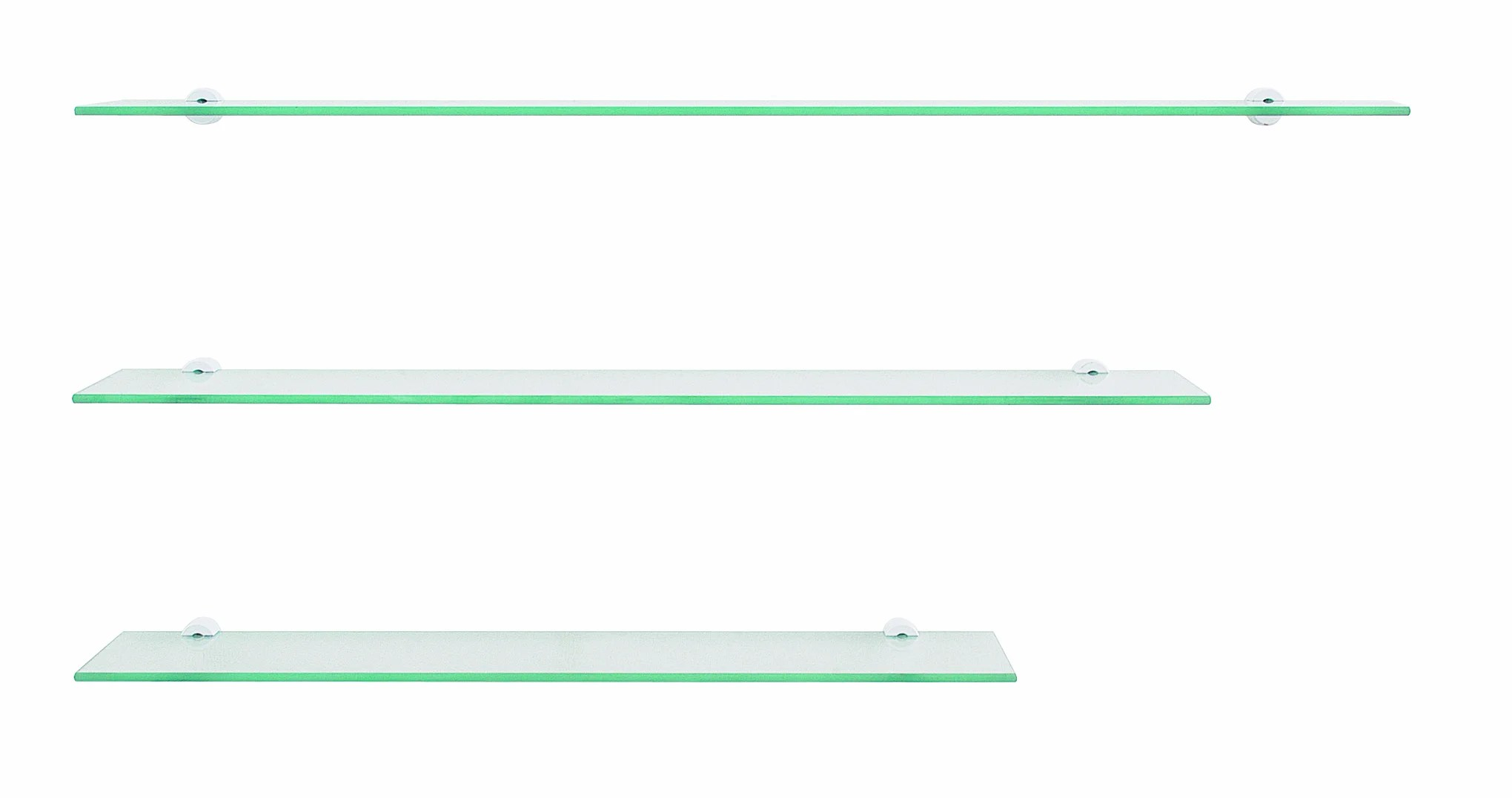 Tablette 70x12 Cm Rectangulaire Verre Simple Leroy Merlin
