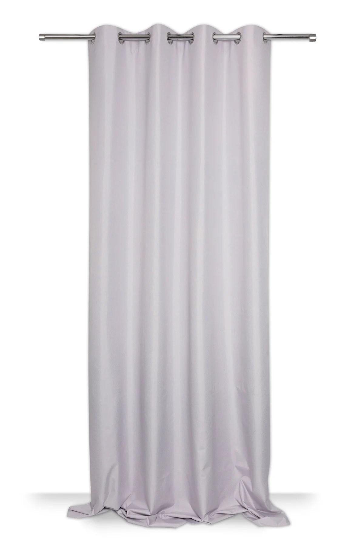rideau occultant copenhague gris l 140 x h 300 cm