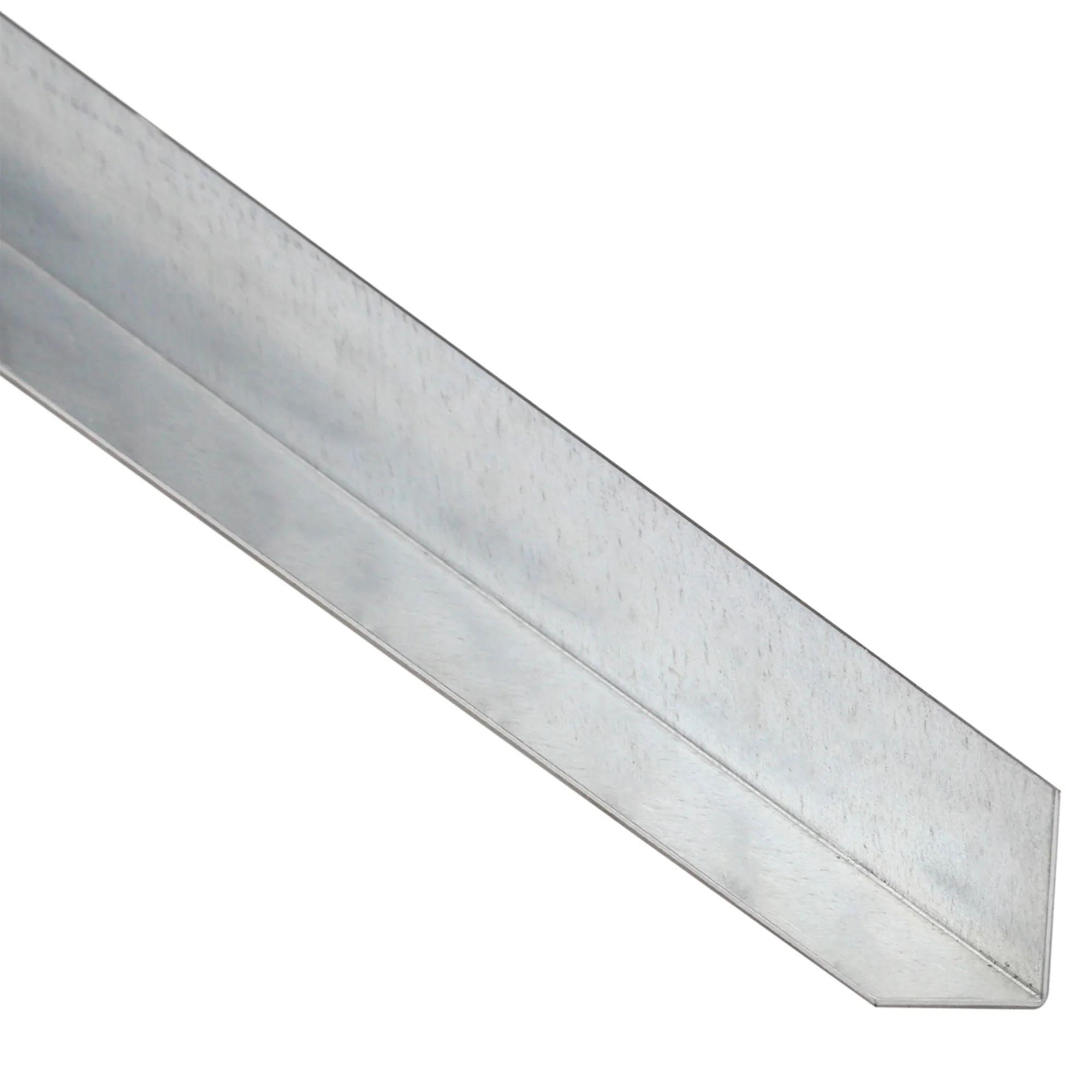 corniere egale acier brut noir l 2 m x l 3 55 cm x h 3 55 cm