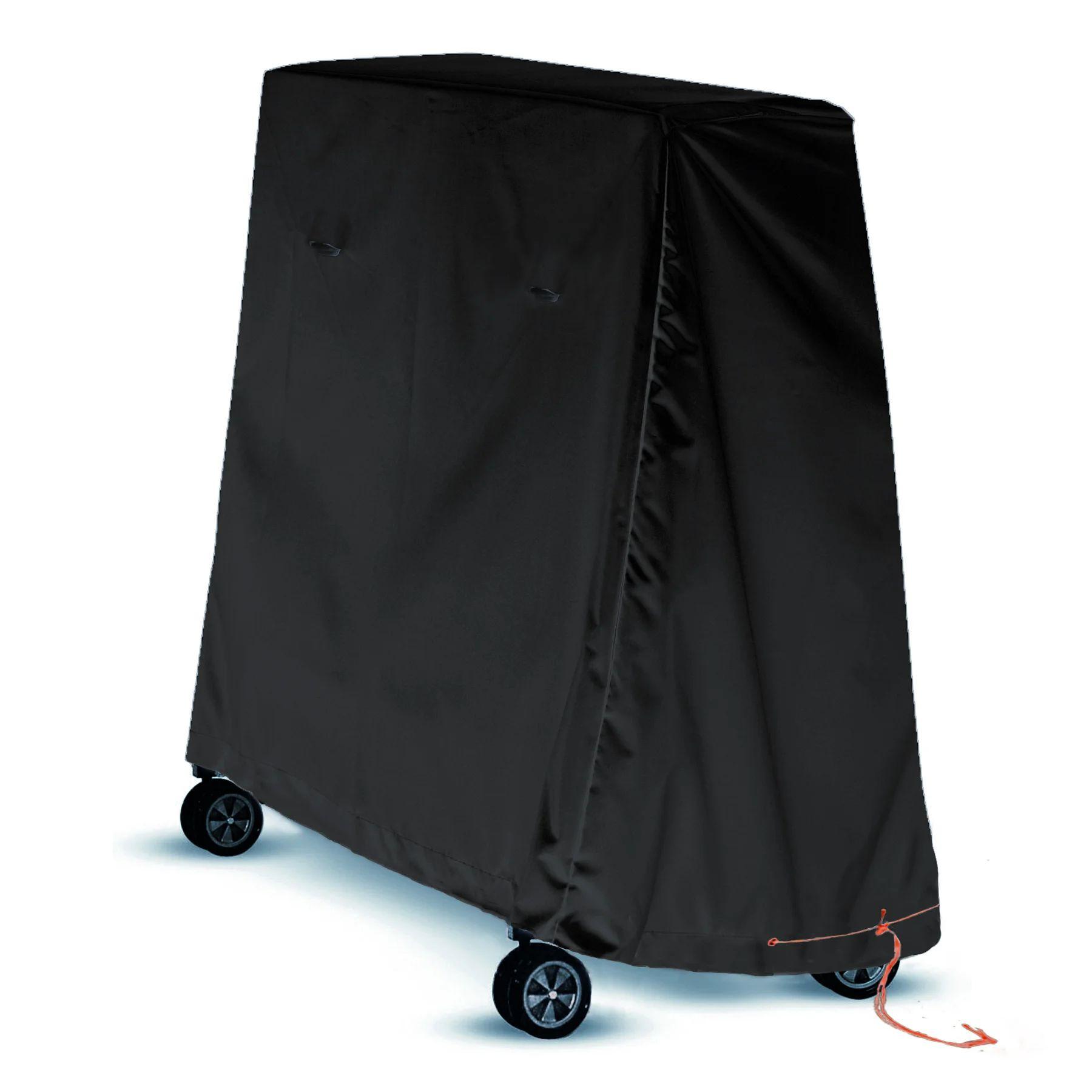 housse de protection pour table de ping pong innov axe l 90 x l 160 x h 135 cm