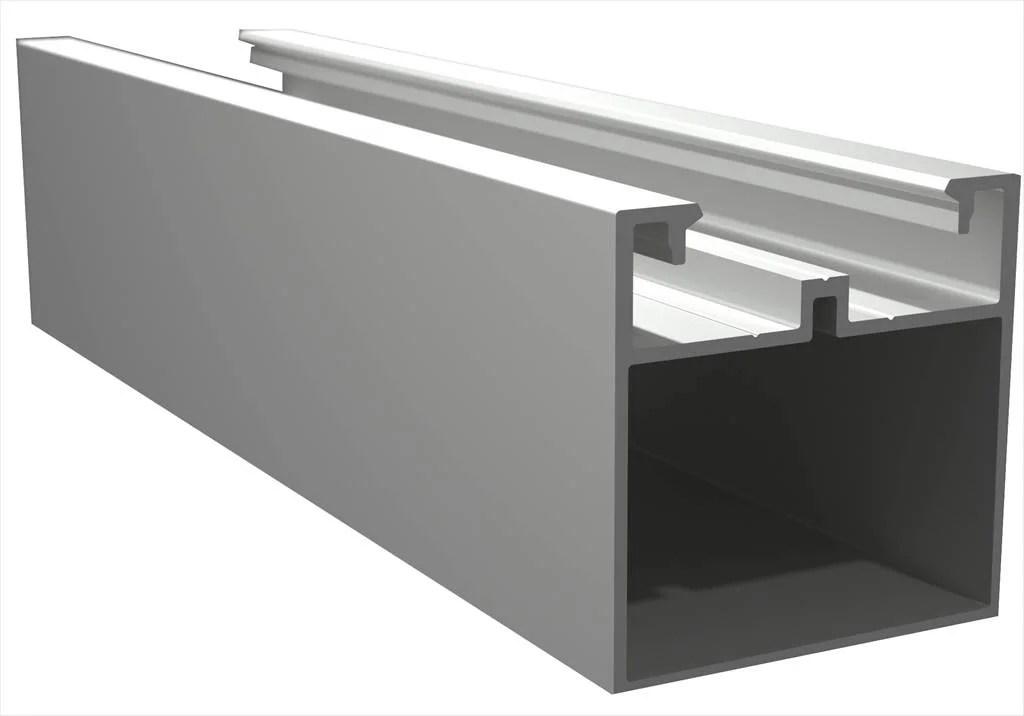 Lambourde Pour Terrasse Composite Aluminium Brut L 2400 M X L 5 Cm X Ep 5 Mm Leroy Merlin