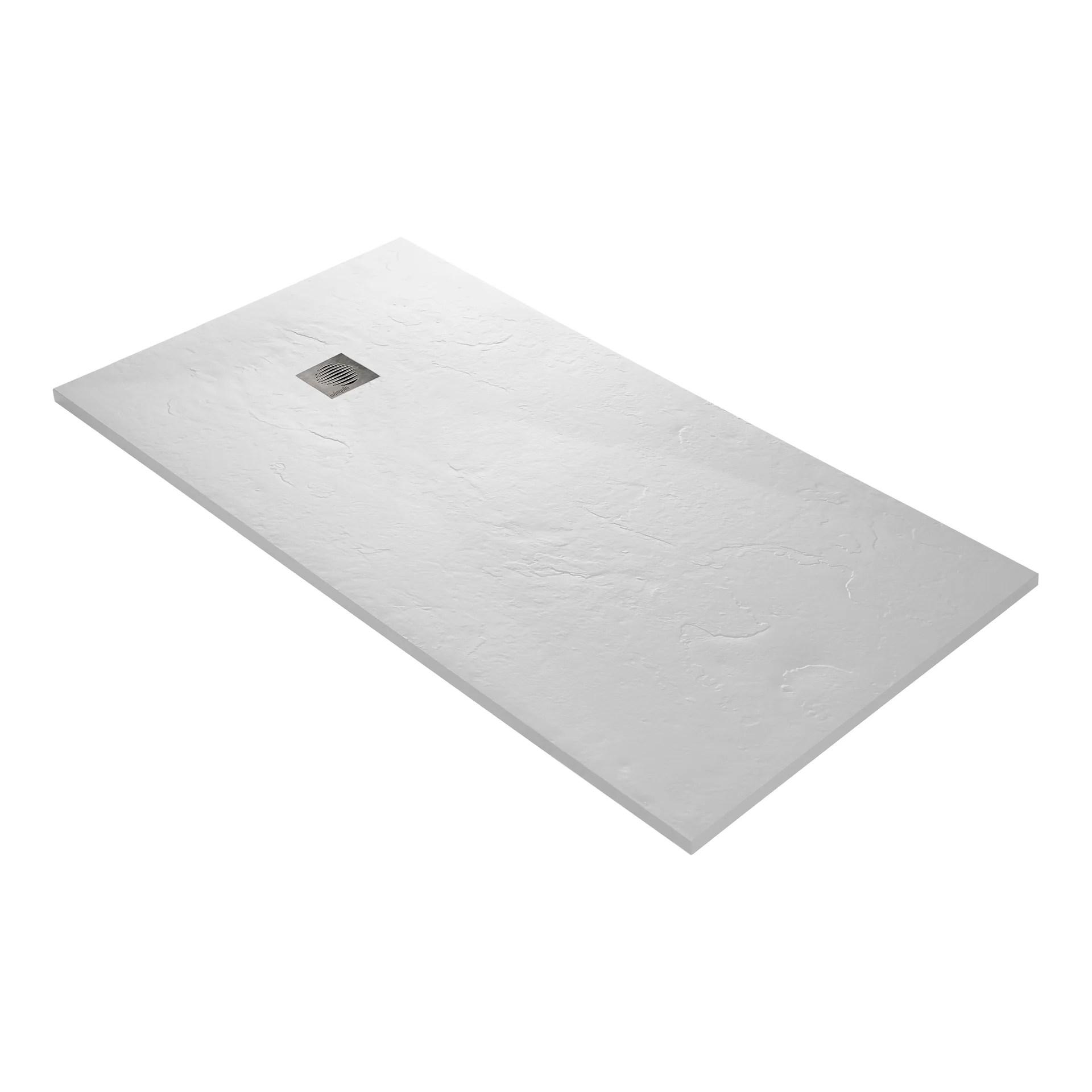 receveur douche extra plat resine blanc 180 x 90