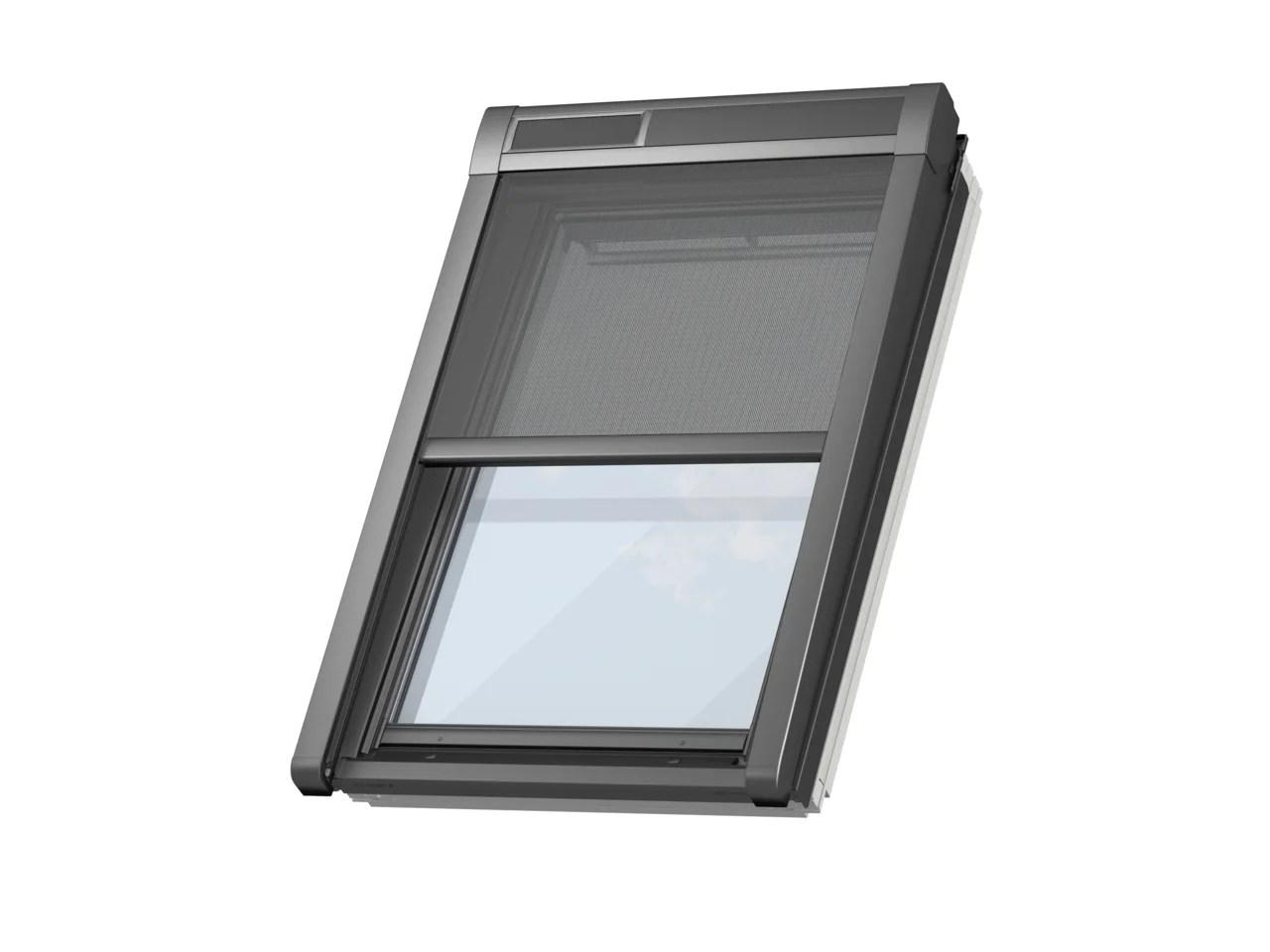store fenetre de toit velux pare soleil solaire mk08 h 140 x l 78 cm