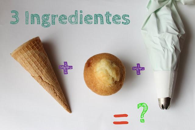 DIY Especial Día de la madre - Cupcake Ice cream