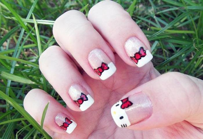 Uñas De Hello Kitty Paperblog