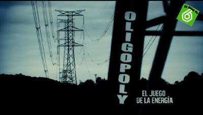 La Sexta, Salvados 18/11/2012: Oligopoly, el juego de la energía