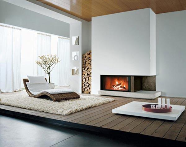 Chimeneas modernas para nuestras casas  Paperblog