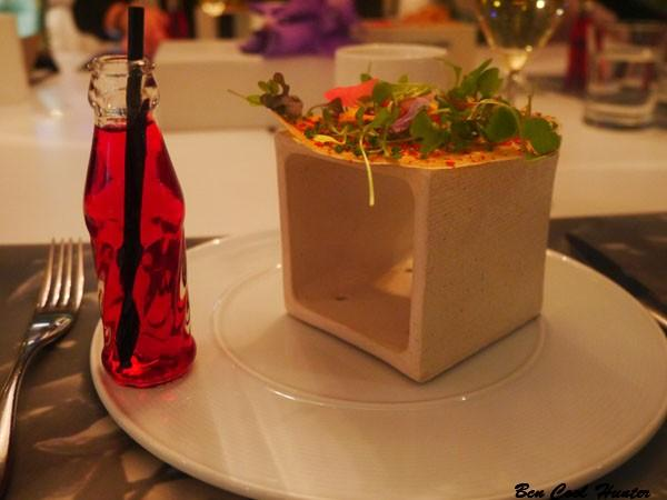 La cocina creativa del restaurante Arola del Hotel Arts se