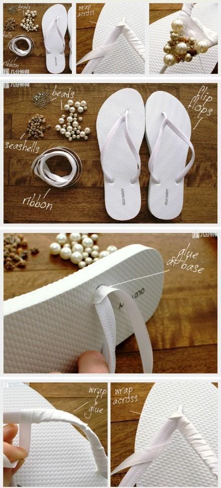 Como decorar sandalias  Paperblog
