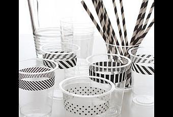 Cmo decorar vasos de plstico para una fiesta  Paperblog