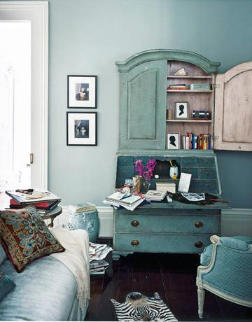 Salones con Tonos Azules  Paperblog