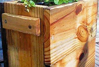 Jardineras Y Maceteros De Madera Para El Exterior  Paperblog