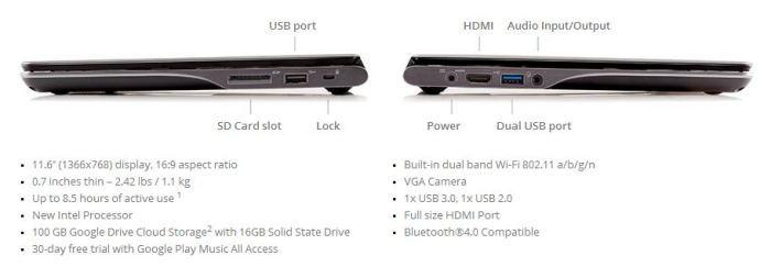 Otra nueva Chromebook, esta vez la Acer lanza la C720