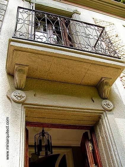 Maquetas de casas Modernistas de Barcelona  Paperblog