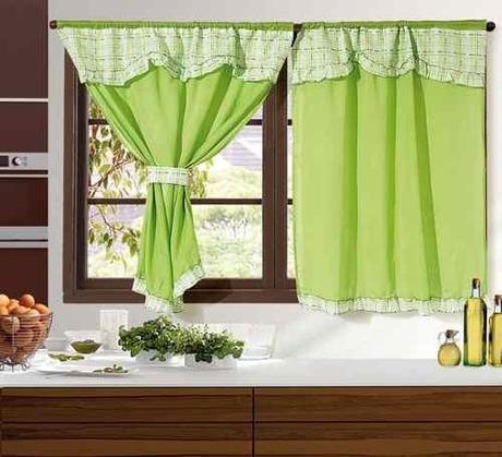 Lindas cortinas para la cocina  Paperblog