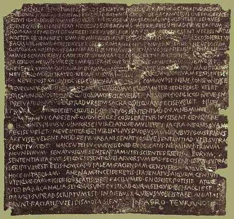 Senatus consultum de bacchanalibus