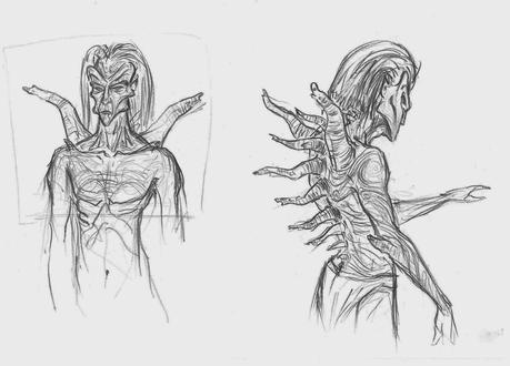 Más bocetos de Tomb Raider VI: The Angel of darkness que