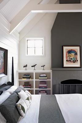 Dormitorio en Blanco y gris  Paperblog