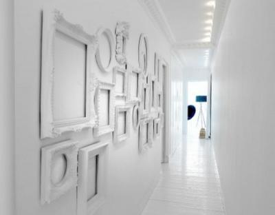 Decorar paredes con marcos  Paperblog