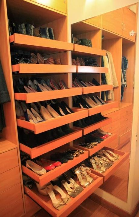 Zapatera ideal para un closet pequeo  Diseo  Paperblog