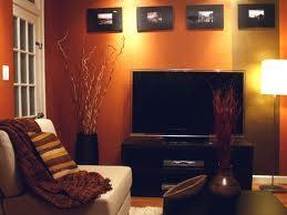 Bellas salas en color naranja y marrn  Paperblog