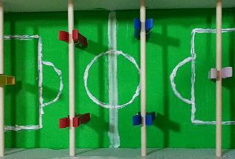 Heartmade Moln Futboln con materiales reciclados