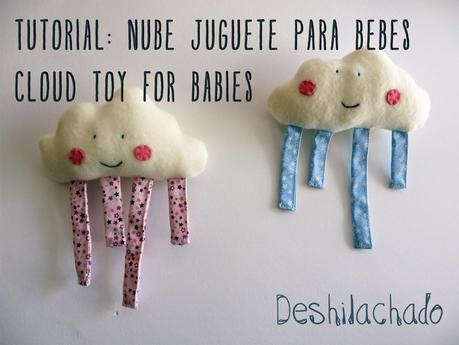 Tutorial nube juguete para bebs  Tutorial cloud toy for babies  Paperblog