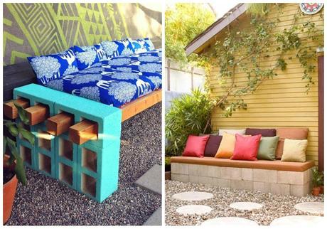 Muebles con bloques de hormign  Paperblog