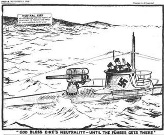 Irlanda contra Churchill - 07/11/1940.