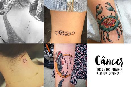 Tatuajes De Signos Del Zodíaco Inspírate Con 60 Ideas Paperblog