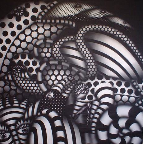 Texturas visuales en blanco y negro  Paperblog