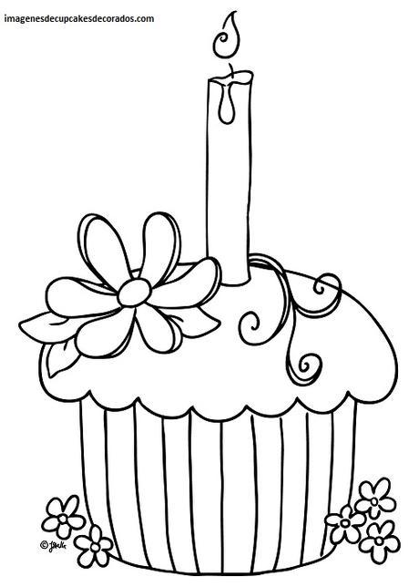 Animados y tiernas imagenes de dibujos de cupcakes para