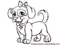 4 Bonitas imagenes de perritos tiernos para pintar ...