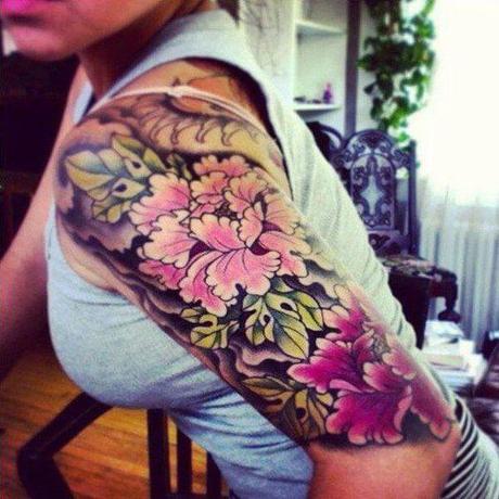 20 Tatuajes De Brazos Para Hombres Y Mujeres A Todo Color Paperblog