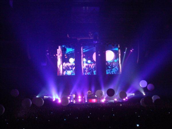 El concierto de Muse en directo en Ingravidez