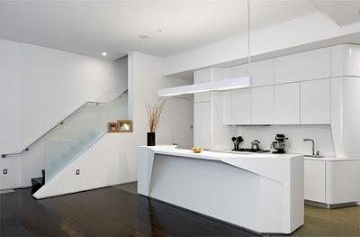 Las cocinas modernas abiertas  Paperblog