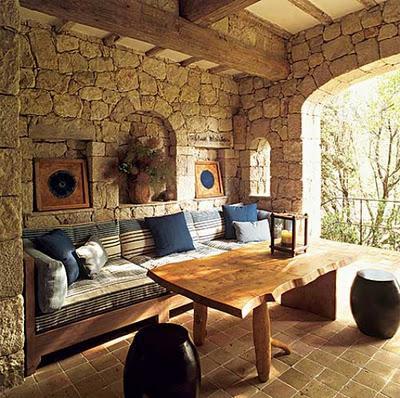 Casa rustica de piedra  Paperblog