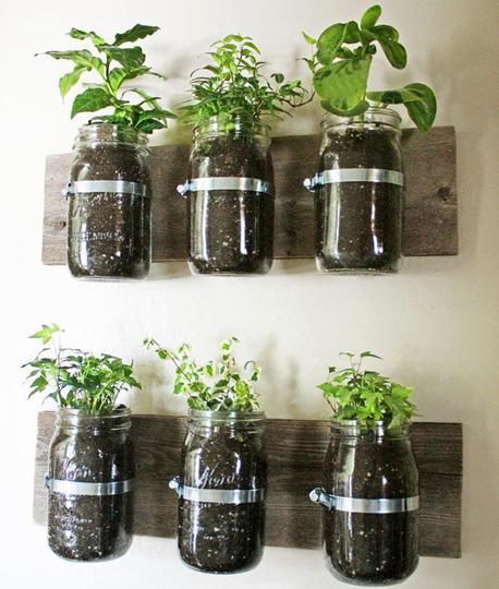 10 formas de tener un jardín en casa sin jardín.