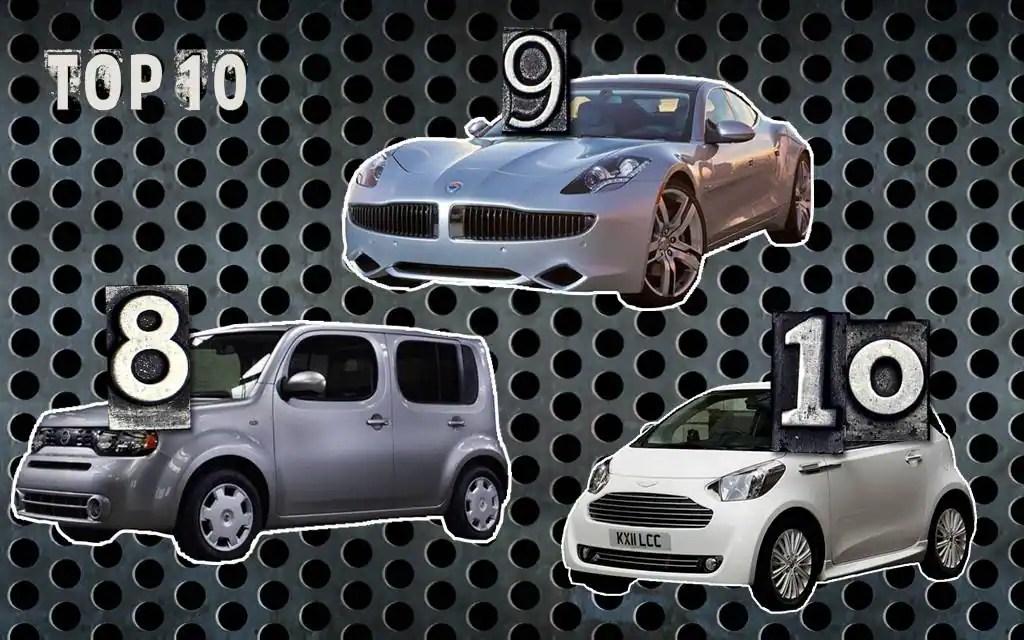 10 voitures qui n'auraient jamais dû exister