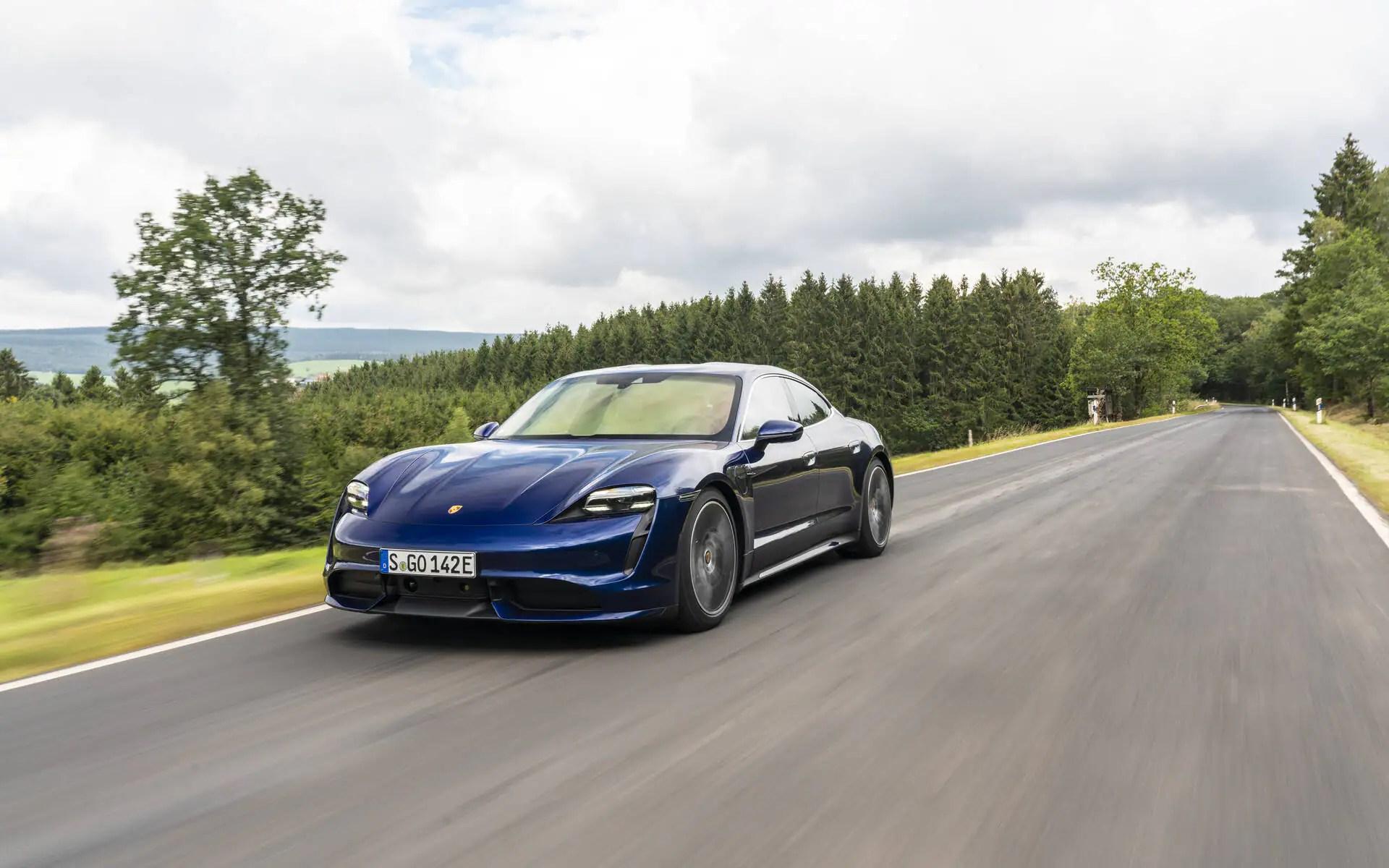 Porsche Taycan: de la haute performance «verte»